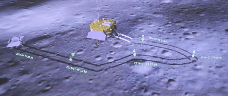 中共中央 国务院 中央军委对探月工程嫦娥四号任务圆满成功的贺